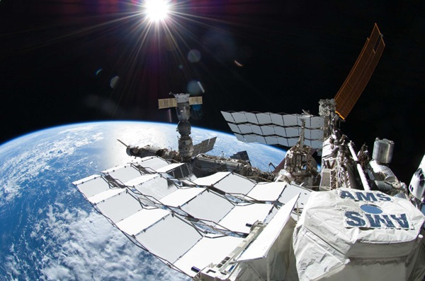 The Alpha Magnetic Spectrometer aboard the International Space Station