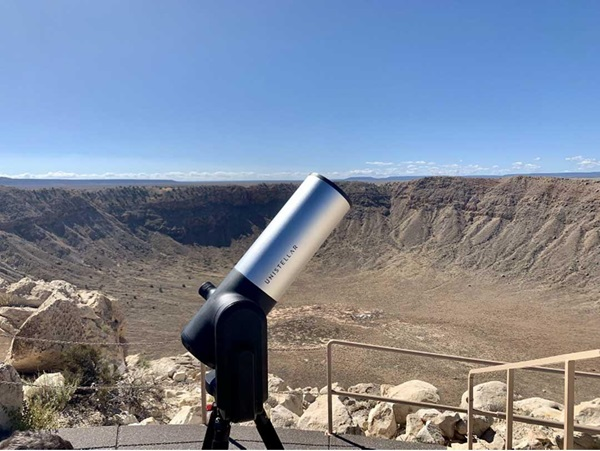 UnistellareVscopeatMeteorCrater