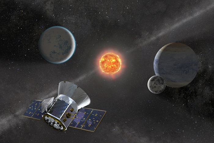 Artist's impression of TESS