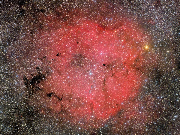 Mu Cephei (Herschel's Garnet Star) and IC 1396