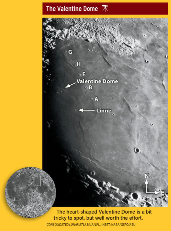 The Valentine Dome on the Moon