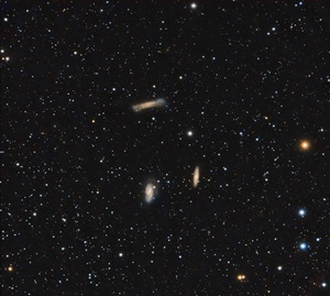 The Leo Triplet of galaxies
