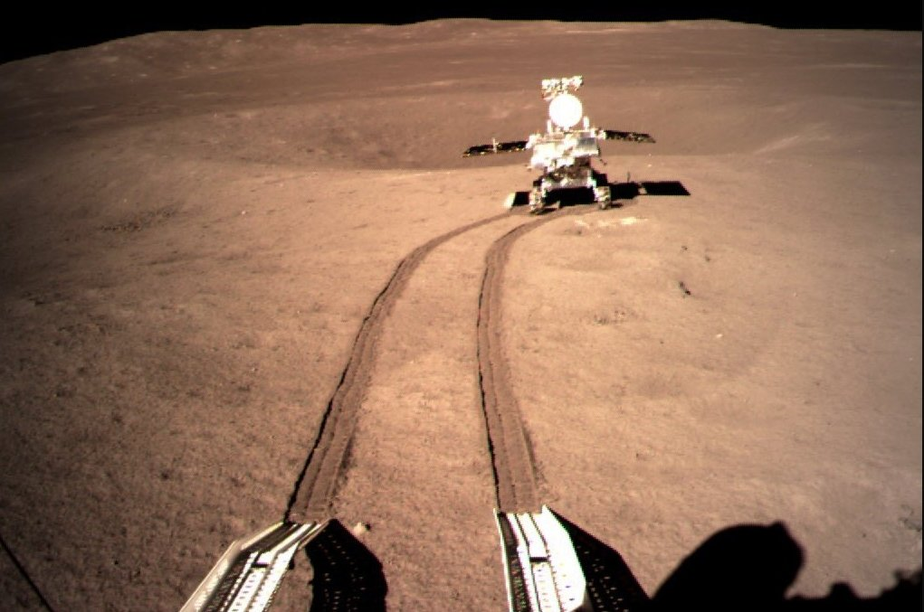 China's rover finds ancient rocks in Moon's biggest crater - Astronomy Magazine thumbnail